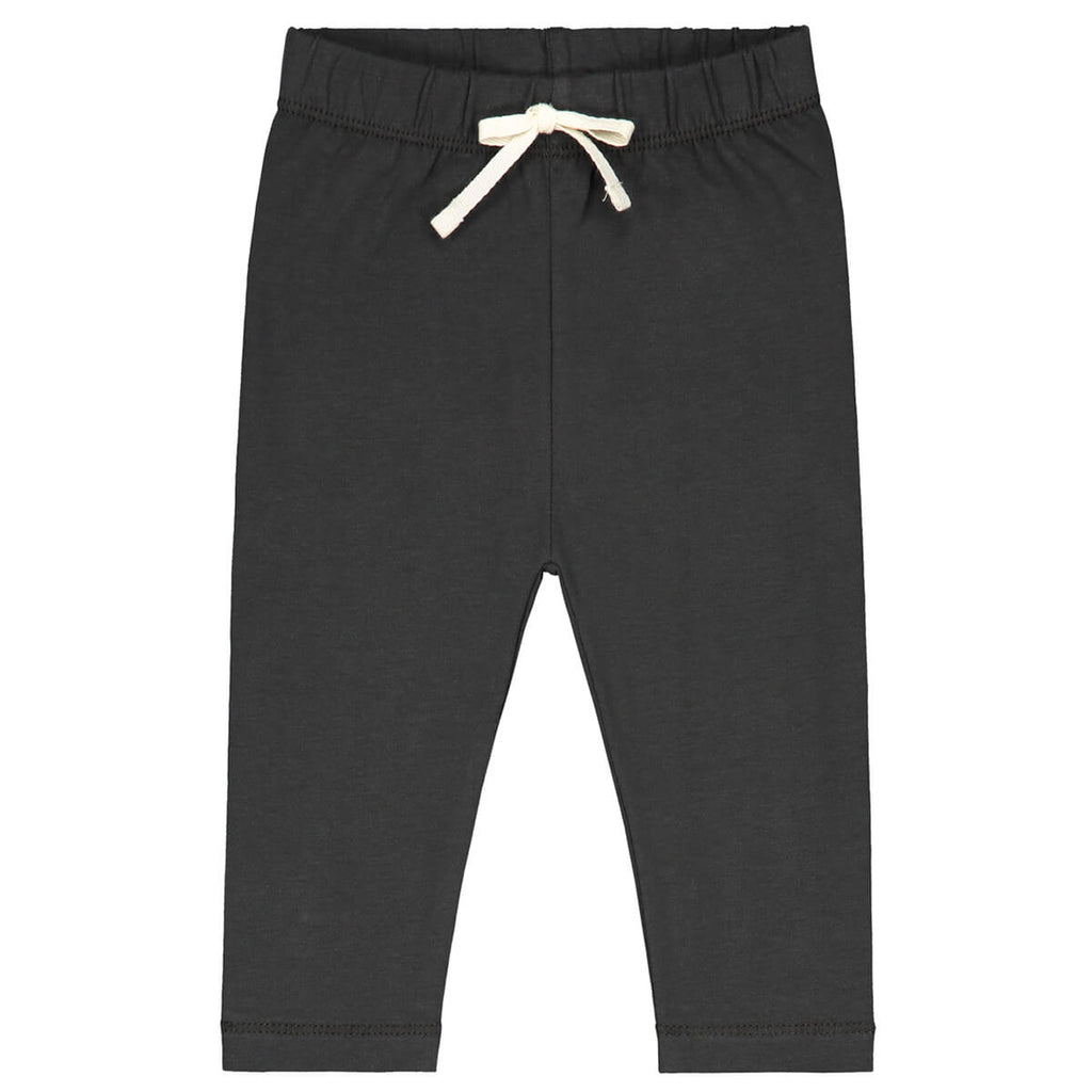 Baby Leggings in Nearly Black by Gray Label - Junior Edition