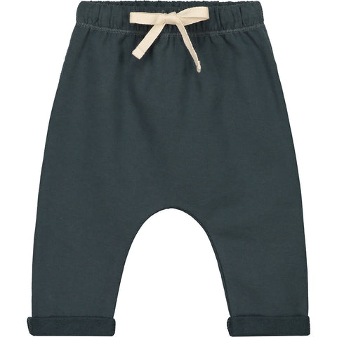 Baby Pants in Blue Grey by Gray Label - Junior Edition