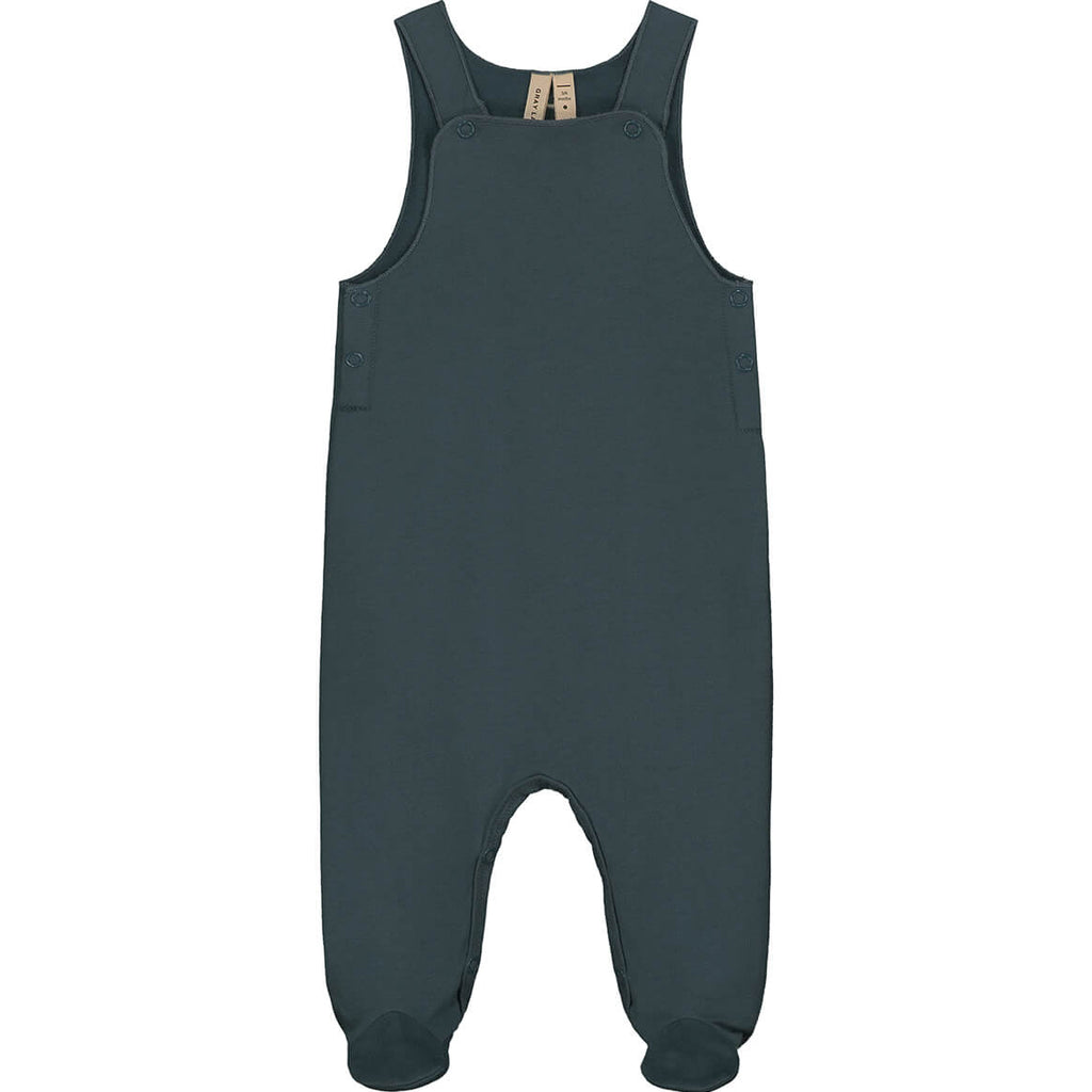 Baby Sleeveless Suit in Blue Grey by Gray Label - Junior Edition
