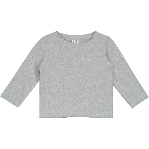 Baby T Shirt in Grey Melange by Gray Label