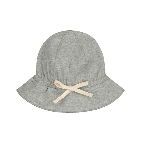 Baby Sun Hat in Grey Melange by Gray Label