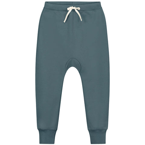 Seamless Baggy Pants in Blue Grey by Gray Label