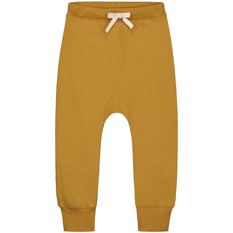 Seamless Baggy Pants in Mustard by Gray Label