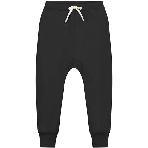 Seamless Baggy Pants in Nearly Black by Gray Label