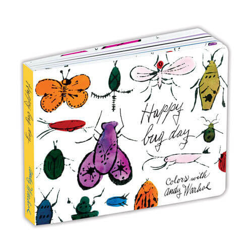 Happy Bug Day by Mudpuppy and Andy Warhol - Junior Edition  - 1