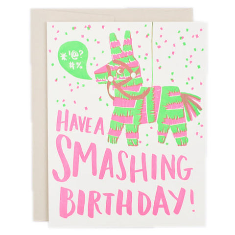Piñata Greetings Card by Hello! Lucky - Junior Edition