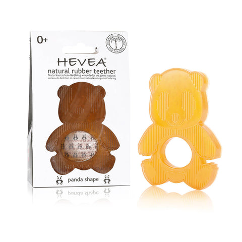 Panda Natural Rubber Teether by Hevea - Junior Edition