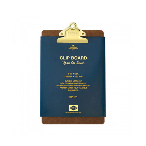 A5 Clipboard in Gold by Hightide Penco