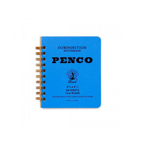 Small Coil Notebook in Blue by Hightide Penco