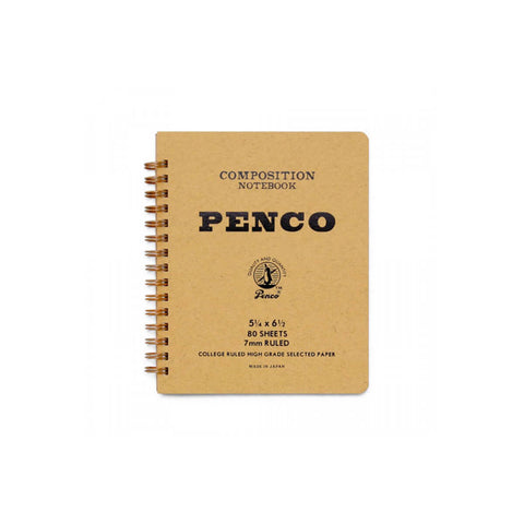 Small Coil Notebook in Natural by Hightide Penco