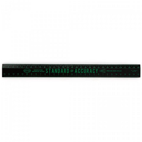 Wooden 30cm Ruler (Various Colours) by Penco