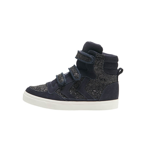 Stadil Glitter High Junior in Graphite by Hummel