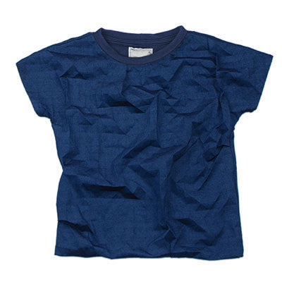 Fo 3D Cube Crackle T Shirt Top by Ine De Haes - Junior Edition  - 1