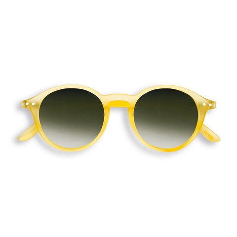 Sun Adult Sunglasses #D in Yellow Chrome by Izipizi