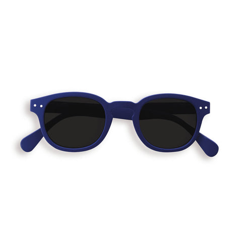 Sun Junior Sunglasses #C (3-10 Years) in Navy Blue by Izipizi