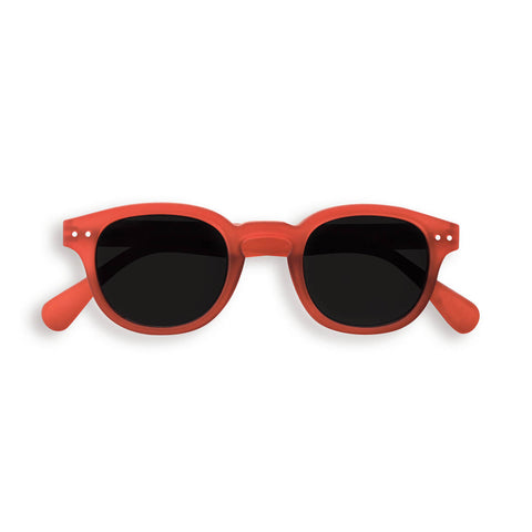 Sun Junior Sunglasses #C (3-10 Years) in Red Crystal by Izipizi