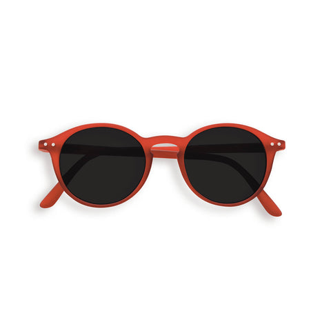 Sun Junior Sunglasses #D (3-10 Years) in Red Crystal by Izipizi