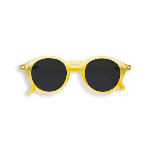 Sun Junior Sunglasses #D (3-10 Years) in Yellow Chrome by Izipizi