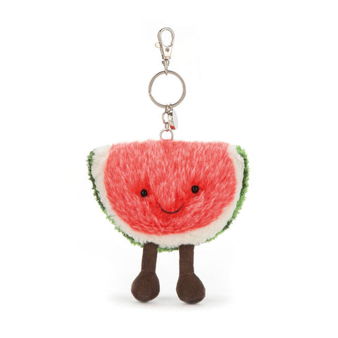 Amuseable Watermelon Bag Charm by Jellycat