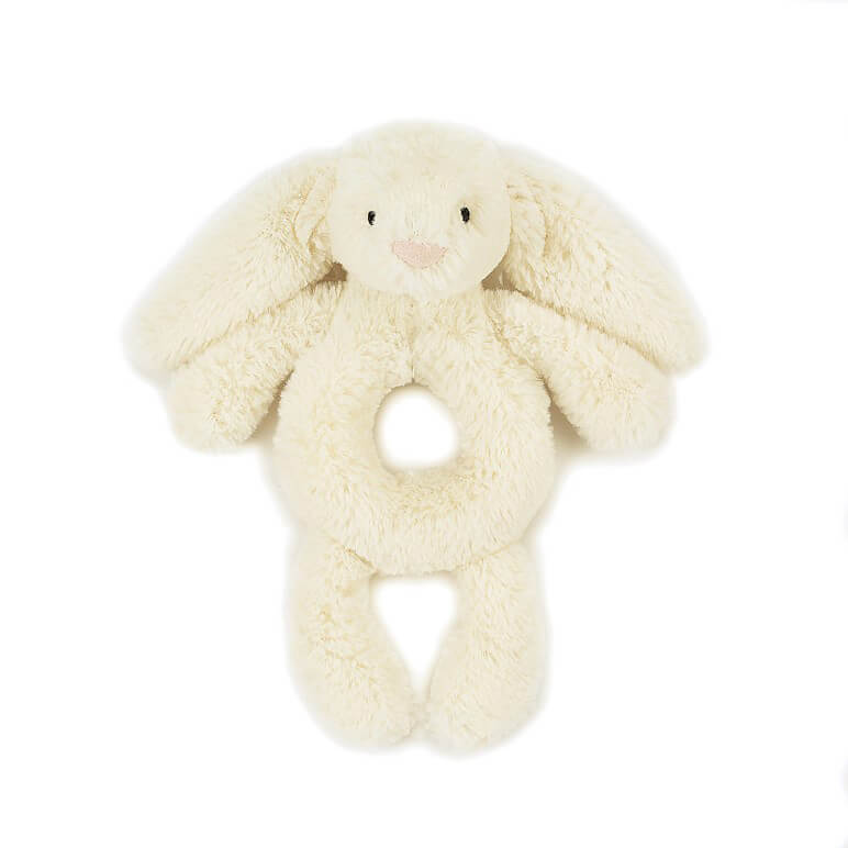 Bashful Cream Bunny Grabber by Jellycat - Junior Edition