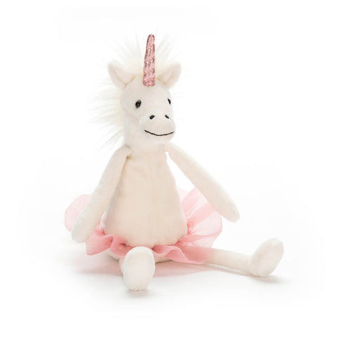 Dancing Darcey Unicorn Small (23cm) by Jellycat - Junior Edition