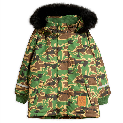 K2 Camo Parka by Mini Rodini