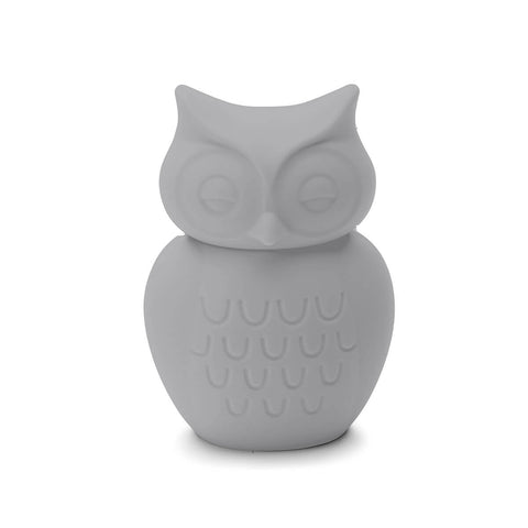 Owl Money Bank in Light Grey by KG Design - Junior Edition