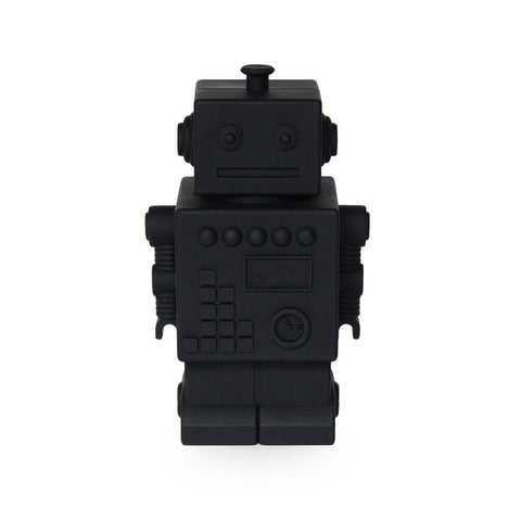 Robert the Robot Money Bank in Black by KG Design - Junior Edition