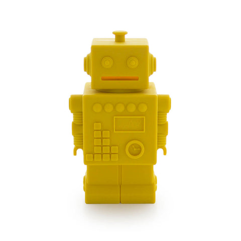 Robert the Robot Money Bank in Yellow by KG Design - Junior Edition