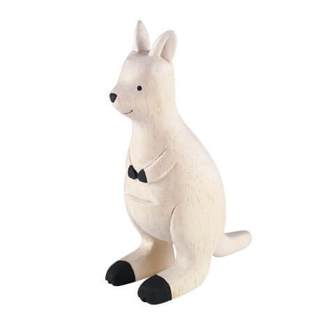 Kangaroo - Polepole Wooden Animal by T-Lab - Junior Edition  - 1