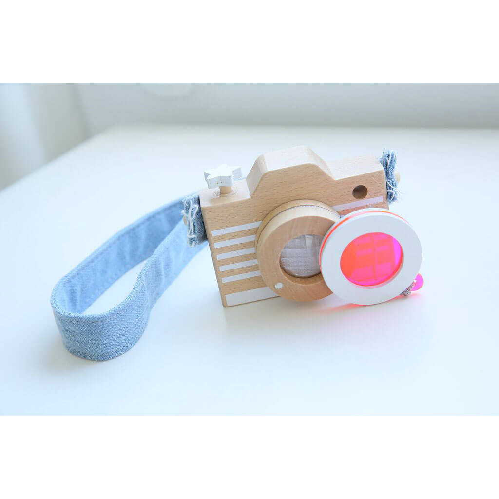 Toy Camera in Pink by Kukkia / Kiko+ - Junior Edition