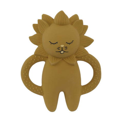 Teether Soother Lion in Mustard by Konges Sløjd