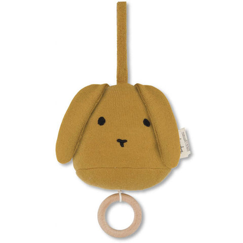 Music Mobile Rabbit in Mustard by Konges Sløjd