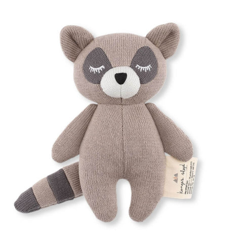 Mini Raccoon Rattle Toy by Konges Sløjd