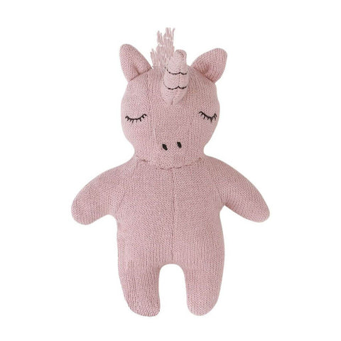 Mini Unicorn Rattle Toy by Konges Sløjd - Junior Edition