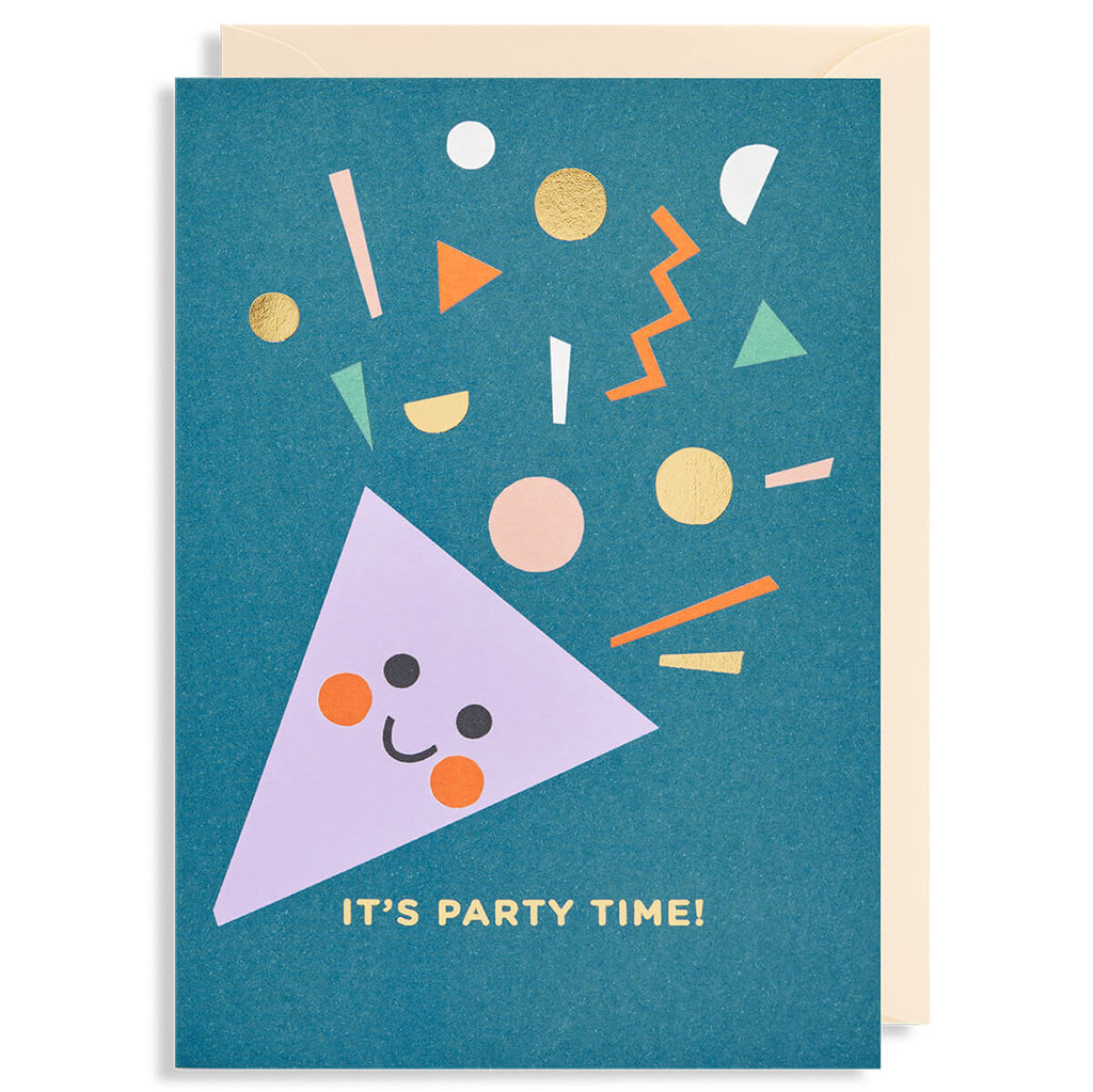 Party Time Greetings Card by Ekaterina Trukan for Lagom Design - Junior Edition
