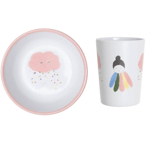 Pax & Hart Pixie Bowl and Tumbler Set by Lapin & Me - Junior Edition
