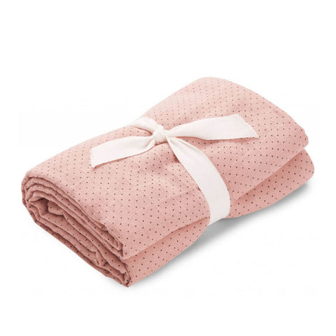Molly Little Dot Swaddle in Rose by Liewood