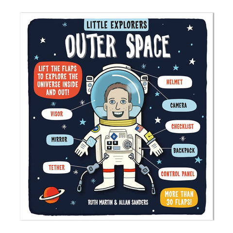 Little Explorers: Outer Space by Ruth Martin and Allan Sanders - Junior Edition