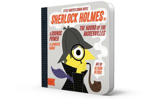 Little Master Conan Doyle: Sherlock Holmes in the Hound of Baskervilles - BabyLit by Jennifer Adams - Junior Edition