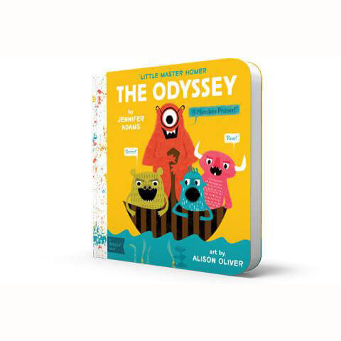 Little Master Homer: The Odyssey - BabyLit by Jennifer Adams - Junior Edition