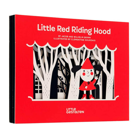 Little Red Riding Hood by Willhelm Grimm, Jacob Grimm & Clémentine Sourdais