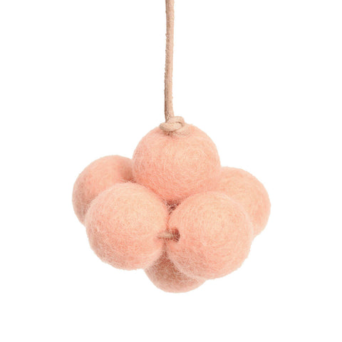 Baby Cloud Baby Gym Toy in Rose by Loullou - Junior Edition