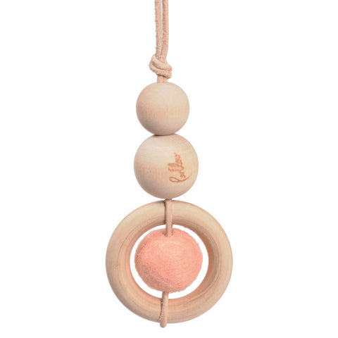 Baby Dot Baby Gym Toy in Rose by Loullou - Junior Edition