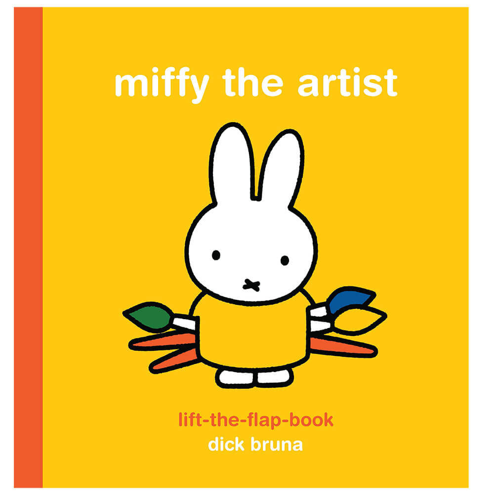 MIffy The Artist (Lift The Flap) by Dick Bruna - Junior Edition