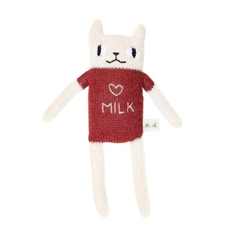 Cat Soft Toy in Sienna by Main Sauvage - Junior Edition