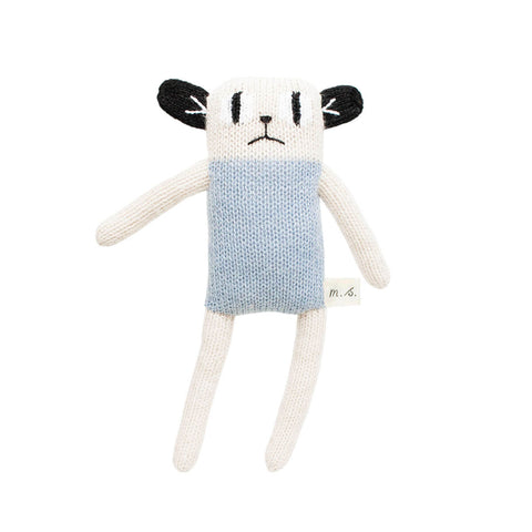 Loris Soft Toy in Blue by Main Sauvage - Junior Edition