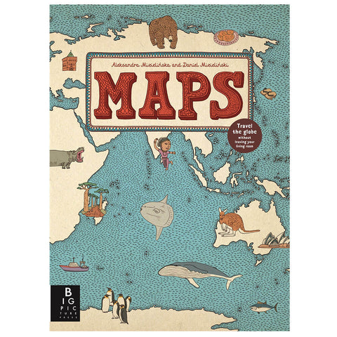 Maps by Aleksandra & Daniel Mizielińska - Junior Edition  - 1
