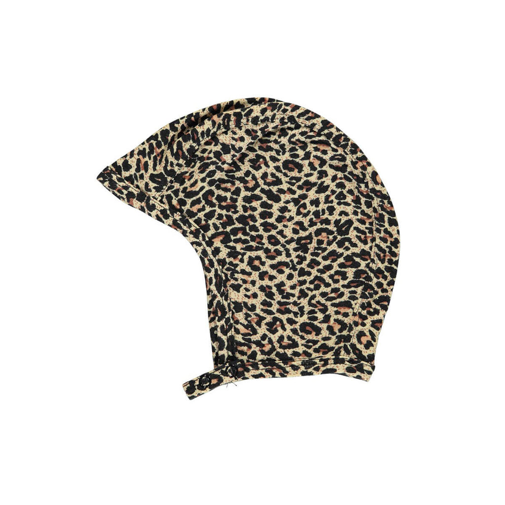 Leo Baby Hat in Brown by MarMar Copenhagen - Junior Edition