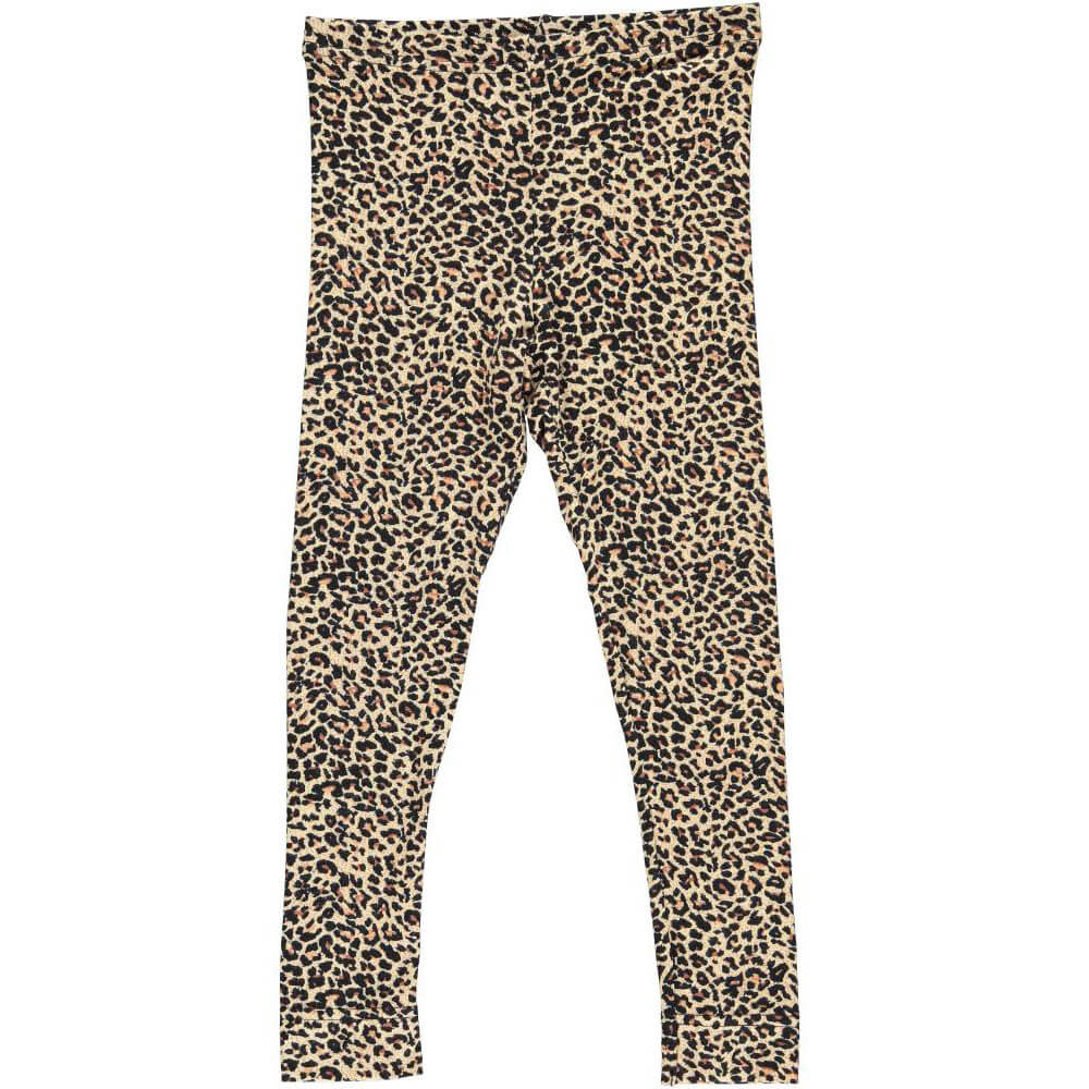 Leo Leggings in Brown by MarMar Copenhagen - Junior Edition